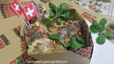 Frittelline light di cavolfiore con lo sbrinz (solo 34 calorie l'una!) Swiss Cheese Parade