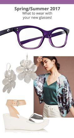 990b584c823 New eyeglasses and what to wear with them! Eyeglasses Frames For Women