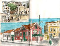 Diários de Viajante: Queluz, Sintra.