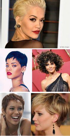 Corte curto - pixie cut e blunt cut #cabelos #hair #pixiecut #haircut #hairstyle