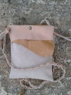 Leather Purse Bag / Small Crossbody shoulderbag by LunaBagDesigns, $70.00