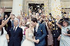 Confetti! Cuteness! Happiness! This just makes me happy!