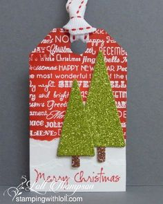 Stamping with Loll: Twelve Tags of Christmas ... Day Ten