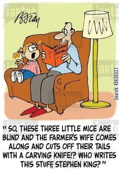 3 Blind Mice~Stephen King?