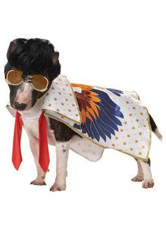 Nothin But A Hound Dog Costume - Elvis Costumes for Pets