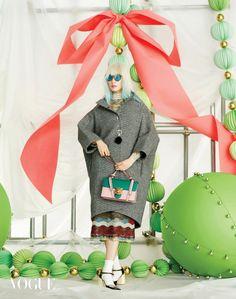 그래니룩으로 즐기는 크리스마스 파티 | Vogue.com