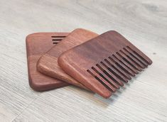 Wide Tooth Comb For Curly Hair Man Beard Comb Handmade Wood Wide Teeth Comb Men's Pocket Beard Hair Comb Anti-Static Massage Skin Scalp Comb For Curly Hair, Curly Hair Men, Hair Comb, Hair And Beard Styles, Curly Hair Styles, Types Of Beards, Beard Types, Cheer Up Gifts, Anniversary Favors