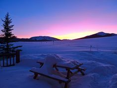 Crested Butte sunset by Gelatobaby, via Flickr Photo By: Alissa Walker