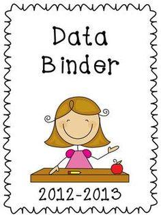 Student Data Binder and Take Home Binder