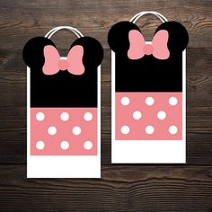 """"""" The perfect theme for any little girl who loves her some Minnie Mouse! Minnie Mouse Party, Mouse Parties, Cupcake Wrappers, Party In A Box, Party Printables, Little Girls, Invitations, Bag, Purse"""