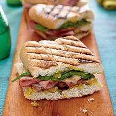 40 Top-Rated Grill Recipes | Cuban Sandwiches | CookingLight.com