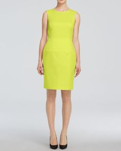 Armani Collezioni Sleeveless Round Neck Dress - Bloomingdale's Exclusive