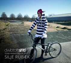 This is Silje Rubæk!  She's a rad Bmx racer from Denmark and from now on a member in our team! Read all about it on our blog (link in bio) Welcome to us @silje_rubaek  #dwbtoftshit #bmxracing #bmxrace #bmxlife #bmx #denmark #roskildebmx #roskilde #team