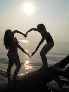 Best friend heart. Love  Lake Erie summers.