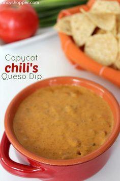 Copycat Chili's Queso Dip Recipe