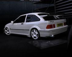 Ford Sierra Cosworth (the shiznitt, back in da day) Ford Rs, Car Ford, Retro Cars, Vintage Cars, Bmw E36, Aston Martin, Subaru, Volvo, Touring