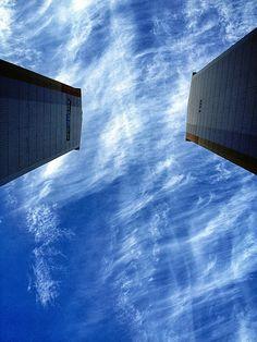 출근길 구름