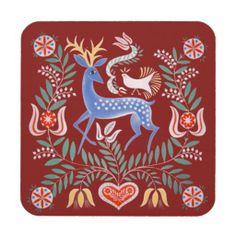 Hungarian Folk Art Deer