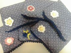 Un regalo muy especial: monederos de patchwork