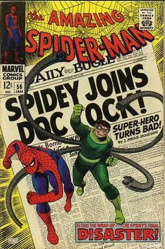 Diversions of the Groovy Kind: The Grooviest Covers of All Time: Spidey and Doc Ock