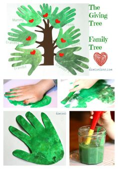 Family Tree inspired by The Giving Tree by Shel Silverstein