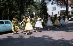 late 1950s Daisy Chain, Brockport College