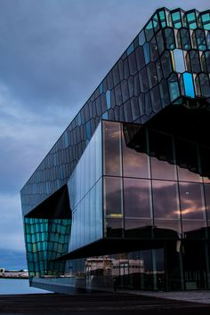 Harpa Concert Hall and Conference Center in Reykjavik - Photo by SomniaArchitectura