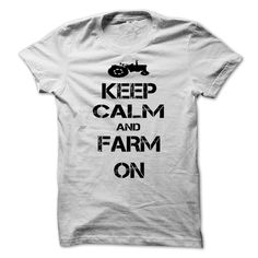 Keep calm and Farm On - T Shirts [Hot] - #shirt outfit #oversized tshirt. WANT => https://www.sunfrog.com/LifeStyle/Keep-calm-and-Farm-On--T-Shirts-[Hot].html?68278