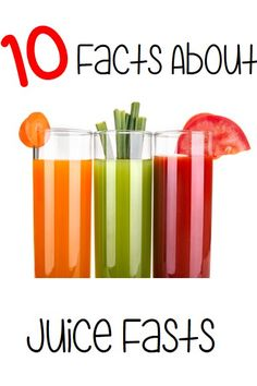 10 Facts you should know about the ever popular juice fasts, very interesting.