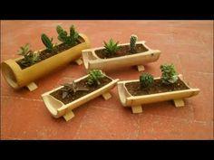 Amazing Garden Jacuzzi Ideas Ideas Rustic Garden Ideas Diy and Gravel Garden Ideas Purple. Bamboo Planter, Bamboo Art, Bamboo Crafts, Bamboo Ideas, Pallet Planters, Planter Boxes, Garden Planters, Herb Garden, Garden Jacuzzi Ideas
