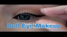"""Halloween Doll Eye Makeup Tutorial 