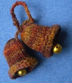Jingle bells knitted christmas pinterest jingle bells this is a decoration for my advent garland it is simple to knit and if you add little metal jingle bells your knitted bells will even ring dt1010fo