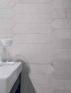 VISIONS by Rex. Floor - Beige Wood Losagna, Wall - White Soft.  . The ethereal but authentic charm of its natural colours means thatthe Visions by Rex collection can be inserted into any context where creativity requires the availability of sizes, surfaces and finishes, so that it can express itself in complete freedom. - Urban Edge Ceramics, Melbourne