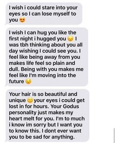 Melt my heart❤️‼️Tbh Wayne why would I be sad 😢 Brett Michael Wayne junior ToTh when I have felt like this for awhile and so have you it's know sin it's just life that showing two different people true love in many different ways Michael? Message For Boyfriend, Boyfriend Quotes, Boyfriend Texts, Boyfriend Girlfriend, Relationship Paragraphs, Cute Relationship Texts, Funny Relatable Quotes, Funny Quotes About Life, Cute Texts