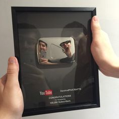 look what we got from youtube! thank you so much to all the crafties out there for supporting us #dontcrycraft