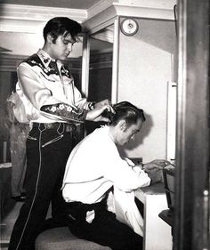 Haircut by Elvis