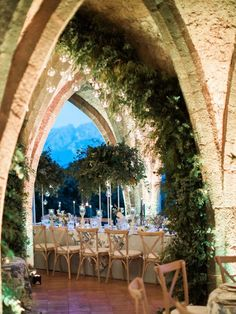 This glamorous destination wedding includes a show-stopping Marchesa gown, beautiful portraits with the Amalfi coastline in the background and a candlelit reception at Villa Cimbrone. Space Wedding, Dream Wedding, Marchesa Gowns, Amalfi Coast Wedding, Luxury Wedding Venues, Outdoor Wedding Destinations, Italian Wedding Venues, Punta Cana, Italy Wedding