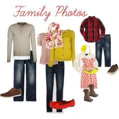 """Fall Family Photos_2"" mustard, red, tan 