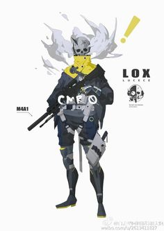 Death bot, a criminal from The last city who lost his legs and replaced it with robotic legs Character Concept, Character Art, Concept Art, Fantasy Characters, Anime Characters, Character Illustration, Illustration Art, Arte Cyberpunk, Drawn Art