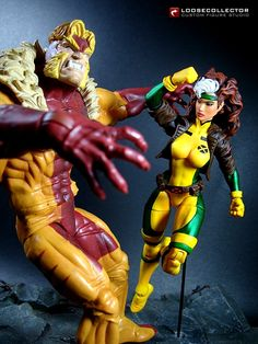 Custom Marvel Legends Jim Lee Rogue Action Figure by loosecollector