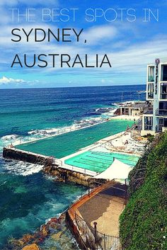 The best spots in Sydney, Australia including the amazing Bondi Icebergs Club complete with infinity pool! Travel to Australia and make the most out of your stay Brisbane, Places To Travel, Travel Destinations, Places To Visit, Travel Tourism, Great Barrier Reef, Dream Vacations, Vacation Spots, Dream Trips