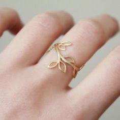 Branch Ring - Gold
