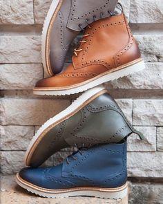 Muuuuy pronto! Les presentamos las botas Brogue  Nosotros las amamos Que les parecen?