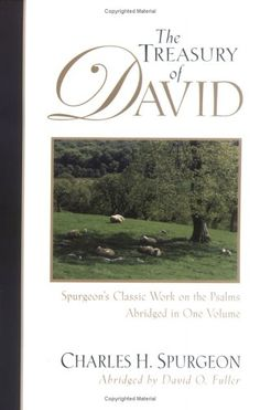 The Treasury Of David Charles Spurgeon