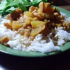 Khoresht-E Hulu (Persian Peach Stew) Recipe