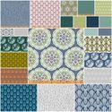 Living Room Quilt fabrics to use with Chopstick quilt pattern Cascade Fat Quarter Bundle