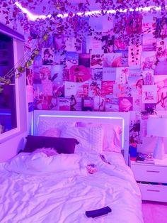 Indie Room Decor, Cute Bedroom Decor, Room Design Bedroom, Teen Room Decor, Room Ideas Bedroom, Bedroom Inspo, Bedroom Small, Wall Decor, Pinterest Room Decor