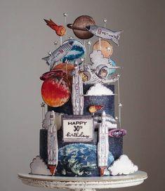 Happy 30th Birthday, Snow Globes, Clock, Cake Ideas, Cakes, Sweet, Home Decor, Bebe, Watch