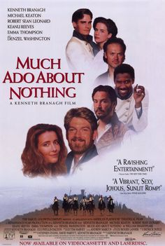 "CAST: Kenneth Branagh, Emma Thompson, Keanu Reeves, Kate Beckinsale, Robert Sean Leonard, Denzel Washington, Michael Keaton, Richard Briers; DIRECTED BY: Kenneth Branagh; Features: - 11"" x 17"" - Packa"
