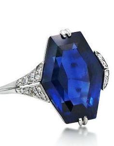 An Art Deco Sapphire and Diamond Ring, circa 1925 by shauna